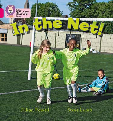 In the net!