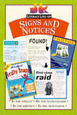 Signs and notices