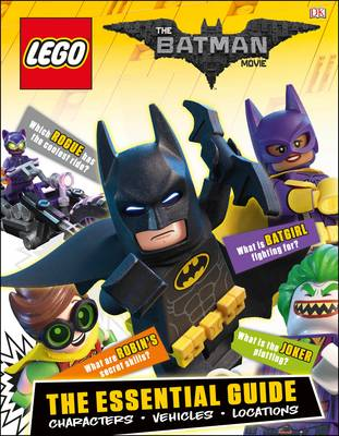 LEGO Batman movie essential guide.