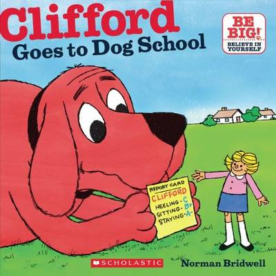 Clifford goes to dog school.