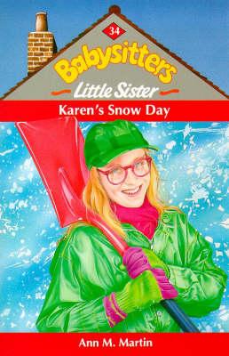 Karen's snowy day.