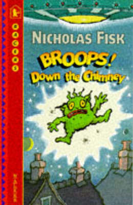 Broops! down the chimney.