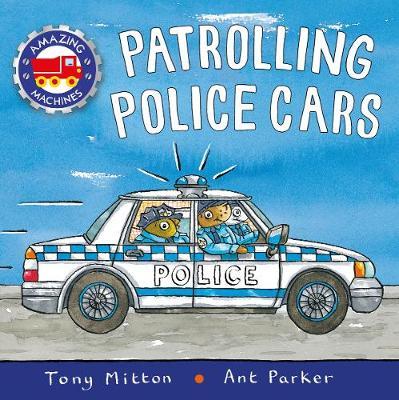 Patrolling police cars