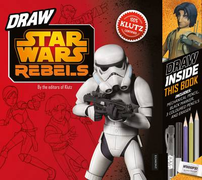Star Wars rebels how to draw activity book.