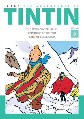 The adventures of Tintin Volume 5 | TheBookSeekers