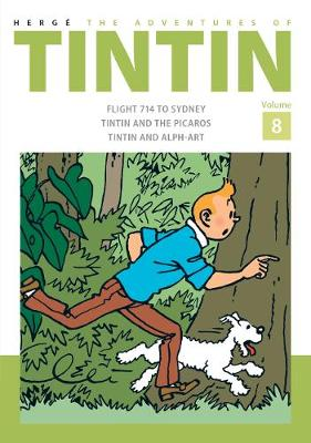 The adventures of Tintin Volume 8 | TheBookSeekers