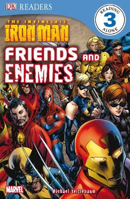 The Invincible Iron Man Friends and Enemies | TheBookSeekers