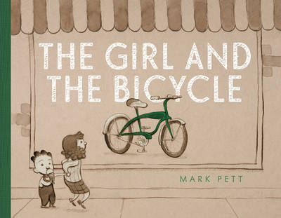 Girl and the bicycle