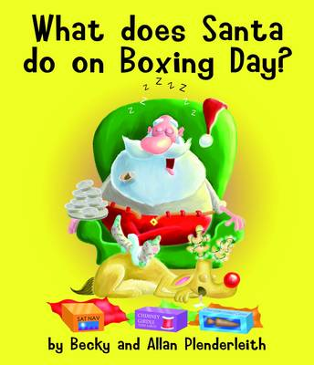 What does Santa do on Boxing Day?