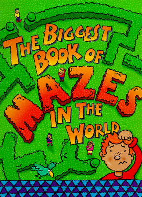The biggest maze book in the world.