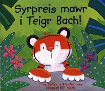 Syrpreis mawr i Teigr Bach!